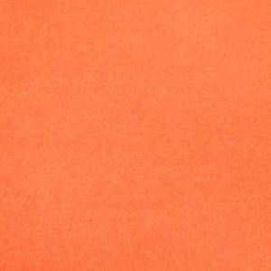 Felt fabrics, orange, 14cm x 14cm, 1 pieces, (PZP076)